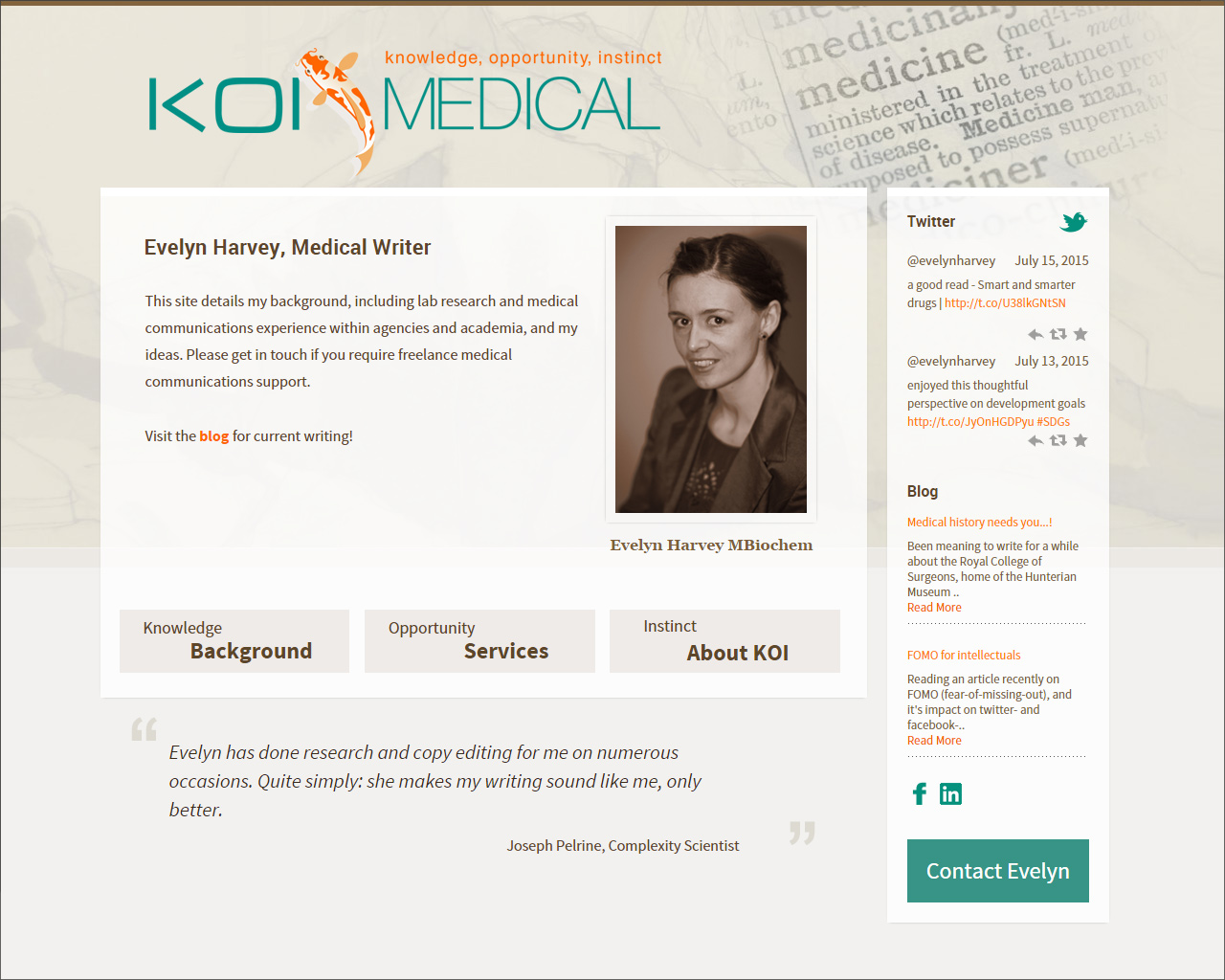 KOI medical