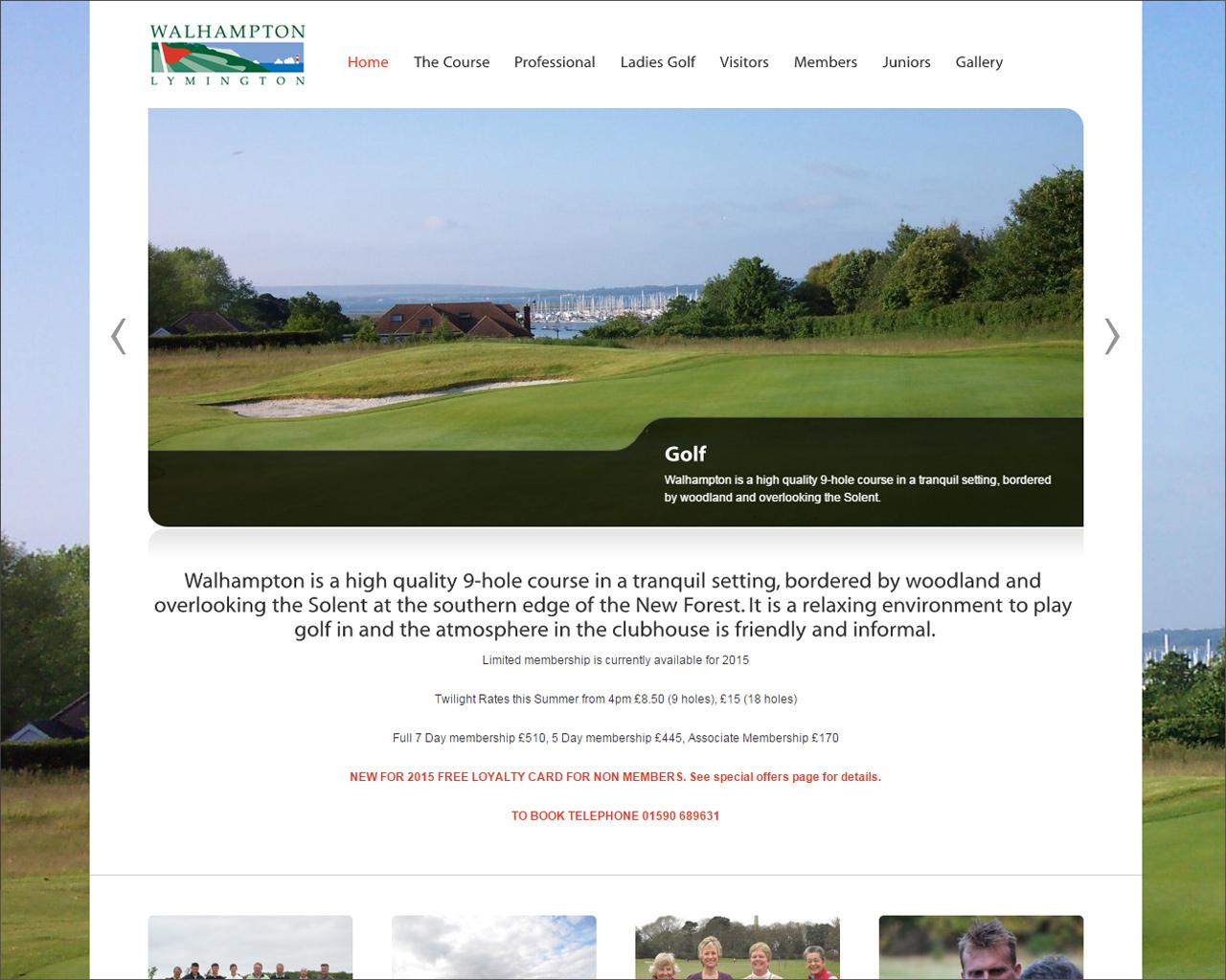 Walhampton Golf Course
